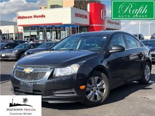 Used 2013 Chevrolet Cruze LT Turbo-Local trade for sale in North York, ON