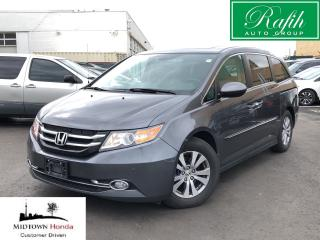 Used 2017 Honda Odyssey EXL Navi-Excellent service records for sale in North York, ON