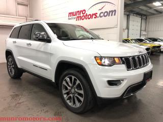 Used 2018 Jeep Grand Cherokee Limited Sunroof NAV Htd Steering Wheel and Seats for sale in St. George Brant, ON