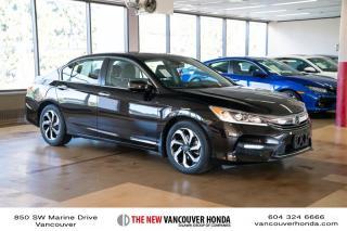 Used 2016 Honda Accord Sedan L4 EX-L CVT for sale in Vancouver, BC
