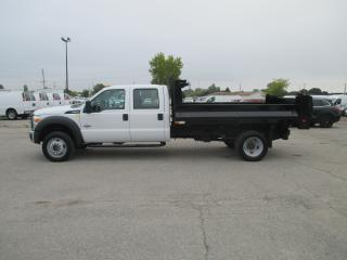 Used 2016 Ford F-550 XL.CREW CAB.11 FT.DEL STEEL DUMP BODY. for sale in London, ON