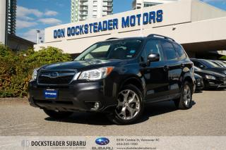 Used 2016 Subaru Forester 2.5i Limited Pkg w/ Eyesight at LEATHER - NAVIGATION - BLUETOOTH - HEATED SEATS - SUNROOF for sale in Vancouver, BC