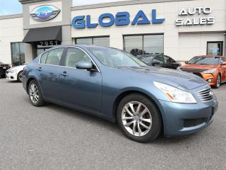 Used 2007 Infiniti G35 Sport Automatic LEATHER SUNROOF. for sale in Ottawa, ON