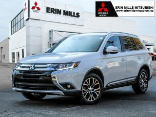 Used 2018 Mitsubishi Outlander GT S-AWC, Leather, Apple Car Play, Android Auto, Sunroof for sale in Mississauga, ON