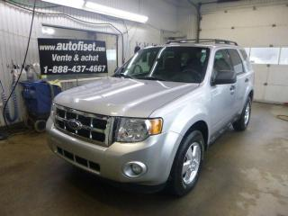 Used 2011 Ford Escape XLT for sale in St-Raymond, QC