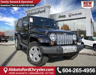 Used 2012 Jeep Wrangler Sahara *LOCALLY DRIVEN* for sale in Abbotsford, BC