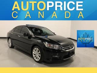 Used 2015 Honda Accord Touring NAVIGATION|REAR CAM|LEATHER for sale in Mississauga, ON