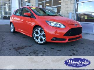 Used 2014 Ford Focus ST 2.0T, MOONROOF, NO ACCIDENTS for sale in Calgary, AB