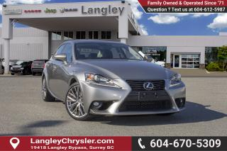 Used 2016 Lexus IS 300 for sale in Surrey, BC