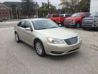 Used 2013 Chrysler 200 LX | One Owner | Keyless Entry for sale in Harriston, ON