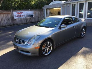 Used 2003 Infiniti G35 BREMBO PKG 6 SPEED for sale in Cambridge, ON