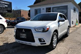 Used 2012 Mitsubishi RVR SE AWD LOW KMS BLUETOOTH NO ACCIDENT for sale in Mississauga, ON