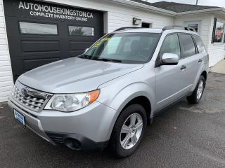 Used 2011 Subaru Forester X Convenience for sale in Kingston, ON