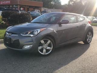 Used 2015 Hyundai Veloster ONE OWNER! BLUETOOTH! ONLY 29,000KMS! for sale in Mississauga, ON