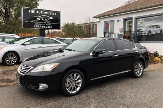 Used 2011 Lexus ES 350 SUNROOF LEATHER NO ACCIDENT for sale in Mississauga, ON