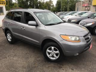 Used 2008 Hyundai Santa Fe GLS/ AWD/ LEATHER/ SUNROOF/ ALLOYS/ FULLY LOADED! for sale in Scarborough, ON