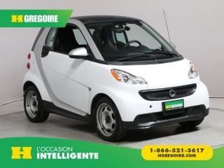 Used 2014 Smart fortwo PASSION A/C CUIR for sale in St-Léonard, QC
