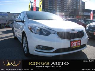 Used 2015 Kia Forte LX+ for sale in Scarborough, ON
