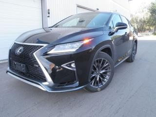 Used 2016 Lexus RX 350 F SPORT 2 BLACK BLACK for sale in Toronto, ON