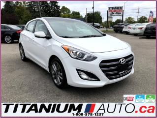 Used 2016 Hyundai Elantra GT Limited-GPS-Camera-Pano Roof-Leather-Apple Play-XM for sale in London, ON