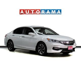 Used 2016 Honda Accord EXL LEATHER SUNROOF BACKUP CAMERA ALLOYS for sale in Toronto, ON