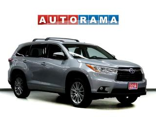 Used 2014 Toyota Highlander XLE NAVI LEATHER SUNROOF 7 PASS 4WD BACKUP CAM for sale in Toronto, ON