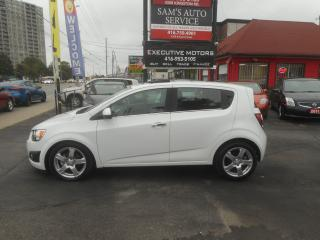 Used 2012 Chevrolet Sonic LT / REMOTE START/ NEW BRAKES / SUNROOF / ALLOYS/ for sale in Scarborough, ON