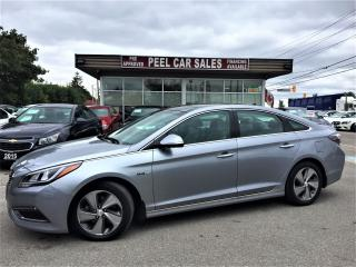 Used 2016 Hyundai Sonata HYBRID|LIMITED|NAV|PANOROOF|2.0LFUELEFFICIENT for sale in Mississauga, ON