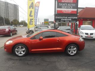 Used 2008 Mitsubishi Eclipse GS / SOUND SYSTEM / A/C / SUNROOF / CLEAN /ALLOYS for sale in Scarborough, ON