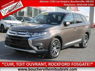 Used 2018 Mitsubishi Outlander Gt Cuir, V6, 4x4 for sale in Boucherville, QC