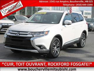 Used 2018 Mitsubishi Outlander Gt Cuir, T.ouvrant for sale in Boucherville, QC
