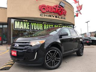 Used 2014 Ford Edge SEL NAVI PANOROOF LOW KMS BLK WHEELS HTD SEATS for sale in Toronto, ON