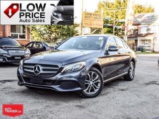 Used 2015 Mercedes-Benz C-Class AWD*Navi*PanoramicRoof*Xenon*BlindSpot*FullOpti* for sale in Toronto, ON