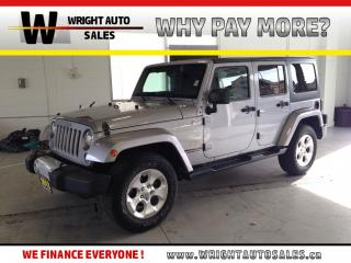 Used 2015 Jeep Wrangler Unlimited Sahara NAVIGATION LEATHER 4X4 92,068 KMS for sale in Cambridge, ON