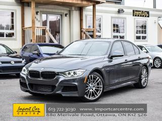 Used 2013 BMW 3 Series 335i xDrive M SPORT 6 SPEED LEATHER ROOF WOW!! for sale in Ottawa, ON