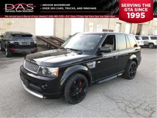 Used 2010 Land Rover Range Rover Sport AUTOBIOGRAPHY SUPERCHARGED NAVIGATION/SUNROOF for sale in North York, ON