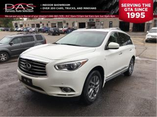 Used 2014 Infiniti QX60 TECHNOLOGY NAVIGATION/360 CAMERA/7 PASS for sale in North York, ON