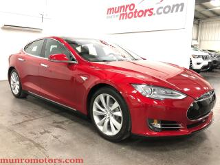 Used 2015 Tesla Model S 85D AWD Pano Auto Pilot/Summon/Park for sale in St. George Brant, ON