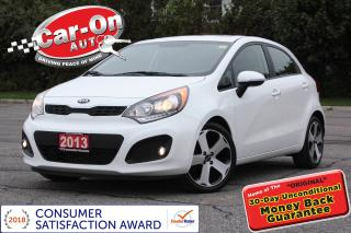 Used 2013 Kia Rio SX LEATHER SUNROOF REAR CAM HTD SEATS LOADED for sale in Ottawa, ON