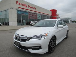 Used 2016 Honda Accord Sport, FREE EXTENDED WARRANTY! for sale in Brampton, ON