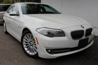 Used 2013 BMW 5 Series 535i xDrive Navi Collision  Mitigation 360 Cam  Lane Assist for sale in Mississauga, ON