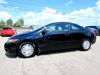 Used 2008 Honda Civic DX Coupe AUTO ALLOYS CERTIFIED AND 2YR WARRANTY for sale in Milton, ON