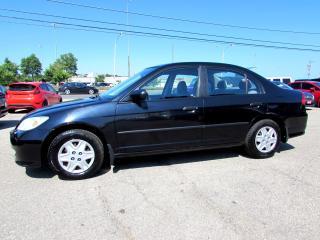 Used 2005 Honda Civic 1.7L SE SEDAN AUTOMATIC CERTIFIED 2YR WARRANTY for sale in Milton, ON