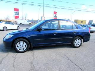 Used 2005 Honda Civic DX Special Edition Sedan 5 Spd Manual Certified 2Yr Warranty for sale in Milton, ON
