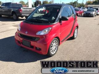 Used 2011 Smart fortwo - Low Mileage for sale in Woodstock, ON