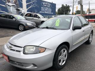 Used 2005 Chevrolet Cavalier VL for sale in Toronto, ON