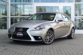 Used 2016 Lexus IS 300 AWD Low Kms! Navi! for sale in Vancouver, BC