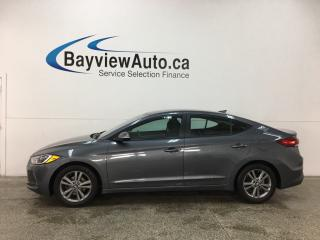 Used 2017 Hyundai Elantra GL - ALLOYS! HTD SEATS! WIFI! REVERSE CAM! RCTA! HTD STEERING WHEEL! for sale in Belleville, ON