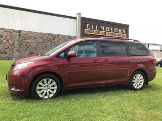 Used 2015 Toyota Sienna LE AWD POWER SLIDING DOORS.REAR VIEW CAMERA.BLUETO for sale in North York, ON