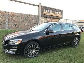 Used 2015 Volvo V60 T6 Premier Plus. AWD. Rear View Camera. for sale in North York, ON